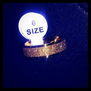 Jewelry - Stainless Steel Gold Ring